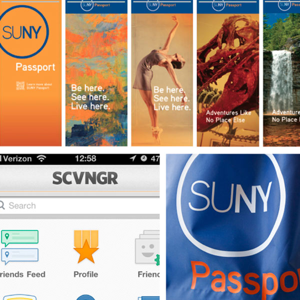 Be Here. See Here. Live Here. SUNY Passport Encourages Students to Explore New York
