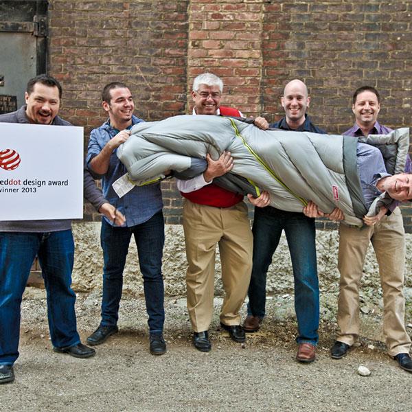 LPK Wins 2013 Red Dot Award for Product Design on Coleman Adjustable Comfort Sleeping Bag