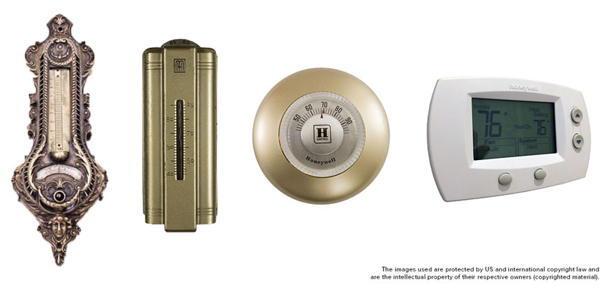 Vintage Thermostats