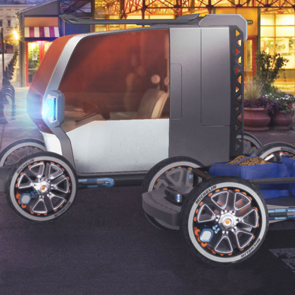 LPK Takes Silver in Michelin's Call for Innovative Automotive Design