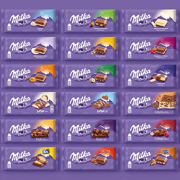 Chocolate Brand Milka Unwraps a New Global Identity