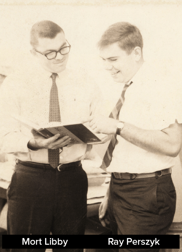 Ray Perszyk & Mort Libby
