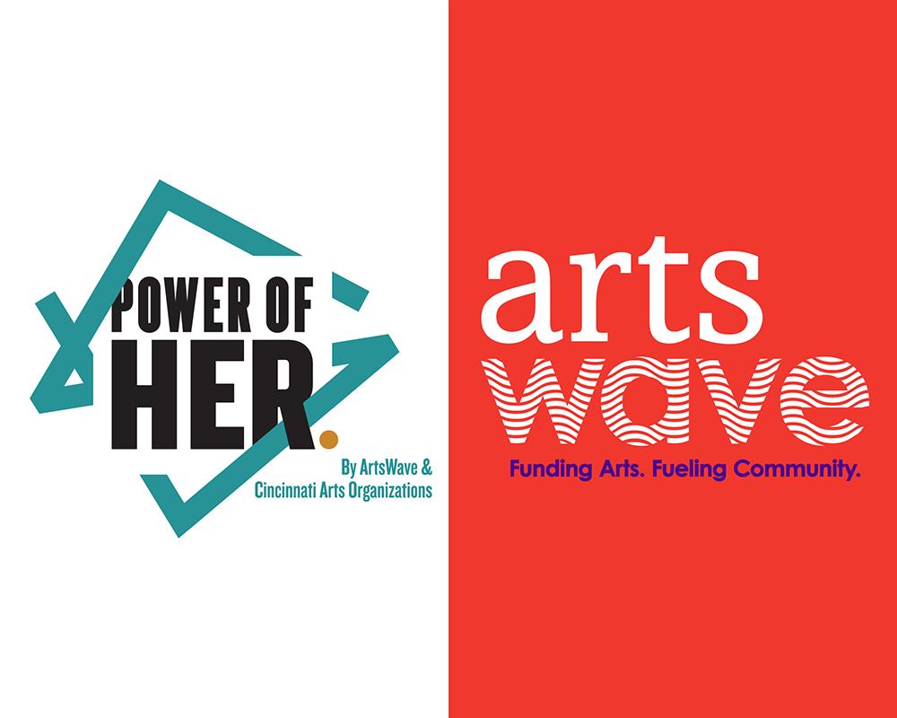 POWER OF HER, ArtsWave,arts branding